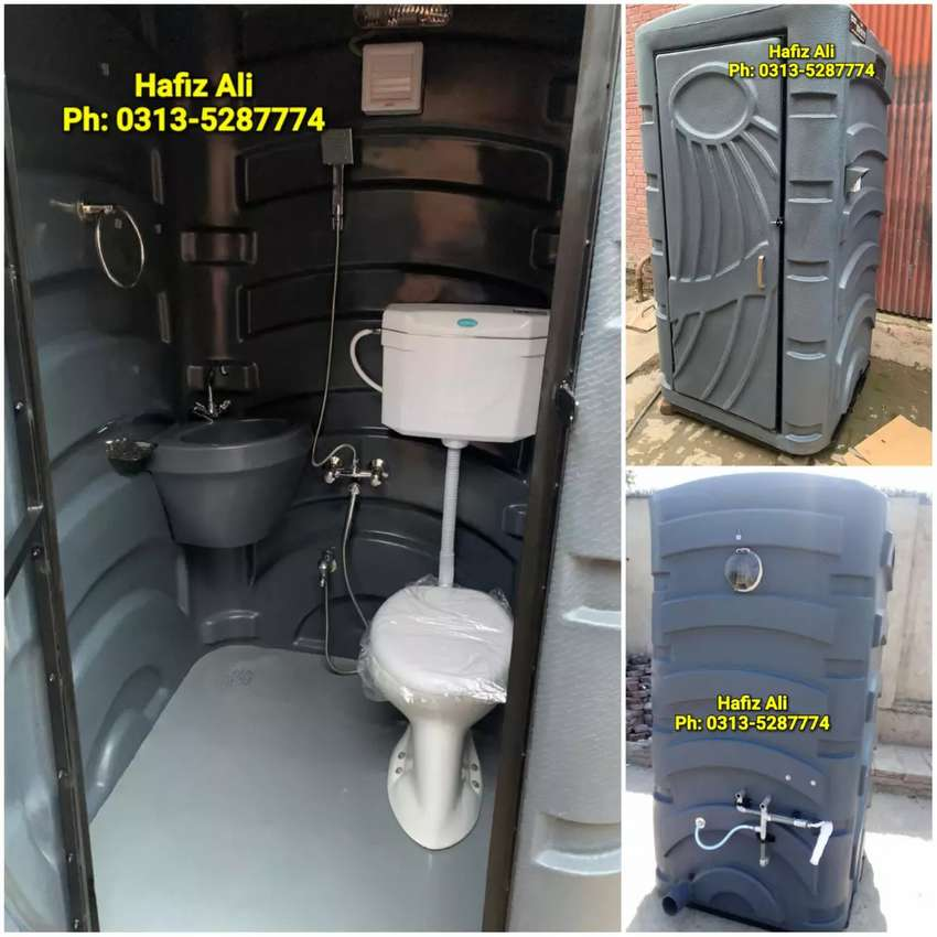Ready toilet washroom,porta cabin,container office,prefab home,guard.. 0