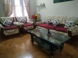 3seater sofa + 2 single seater sofa