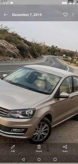 Volkswagen vento top end model