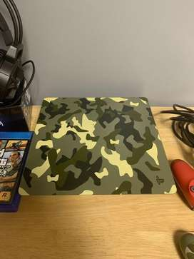 Sony Playstation 4 Ps4 Console Bundle Camoflage