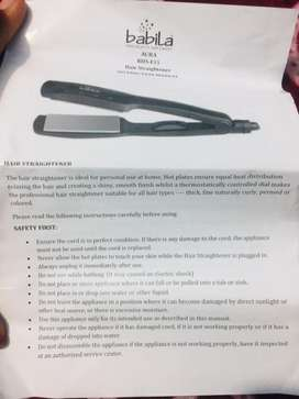 Babila hair straightener