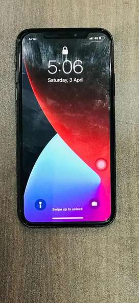 Iphone x phone super condition face not working