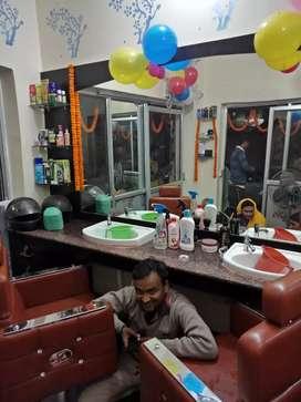 My new jannat hair zone salon ready to move..I...