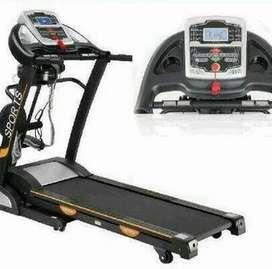 Alat gym fitness treadmill elektrik ID 6638 AM automatic incline