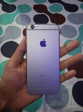 Handphone iphone 6 16gb warna silver