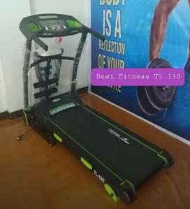 Pusat Alat fitness / Treadmill elektrik TL 130 ready 3in1