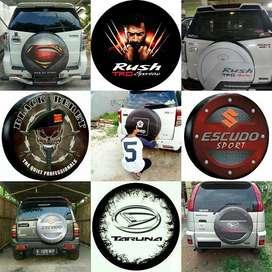 Sarung/Cover Ban Serep rush Touring-Hummer Escudo Suzuki terios jeep J