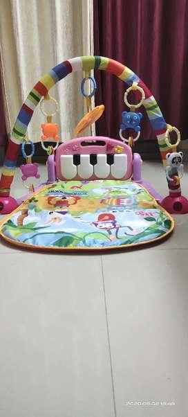Kick n Play Musical Keyboard Piano Baby Play Gym