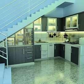 Kitchen set bahal HPL