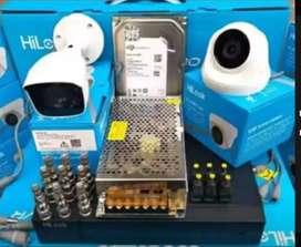 PAKET CCTV FULL HD LENGKAP SUDAH FREE PEMASANGAN