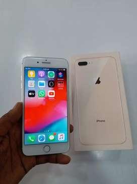 Apple 8 plus 64gb (white). good condition. all original accessory.