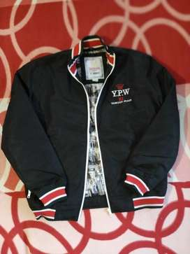 Black And Red Zip-up Jacket (Fixed Price)