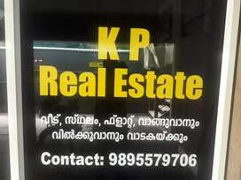 2 bhk new appartment ground flor near thondayad.