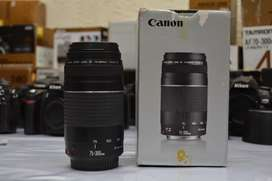 Canon 75-300 with box
