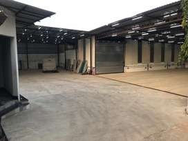 1000Sq Mtr Indistrial Tin Shed available for Rent Verna Ind. Estate
