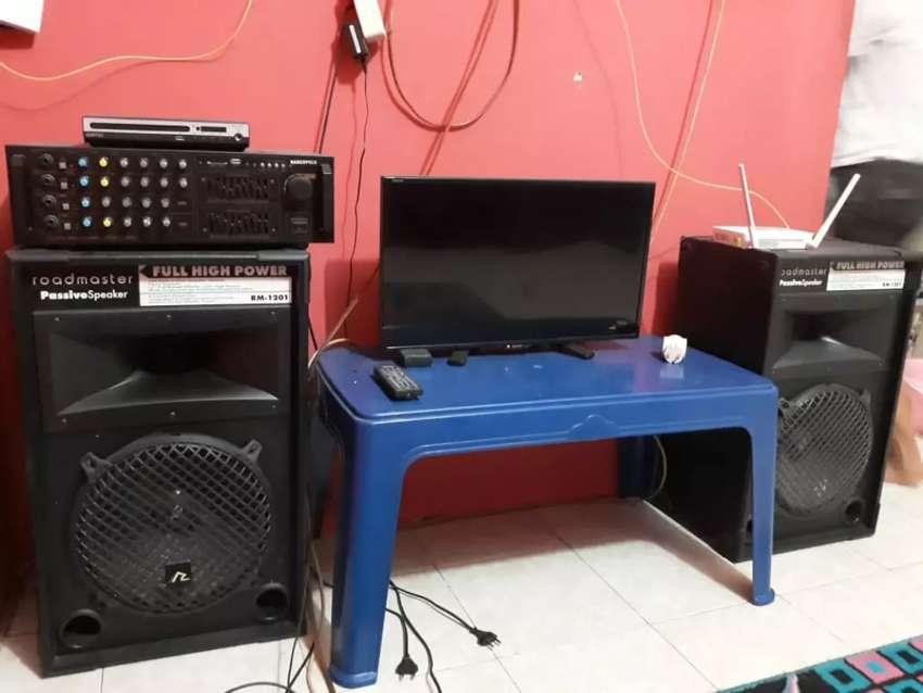 Dijual speaker beserta ampli 0