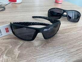 (baru) kacamata olahraga sepeda lari - miniso ori