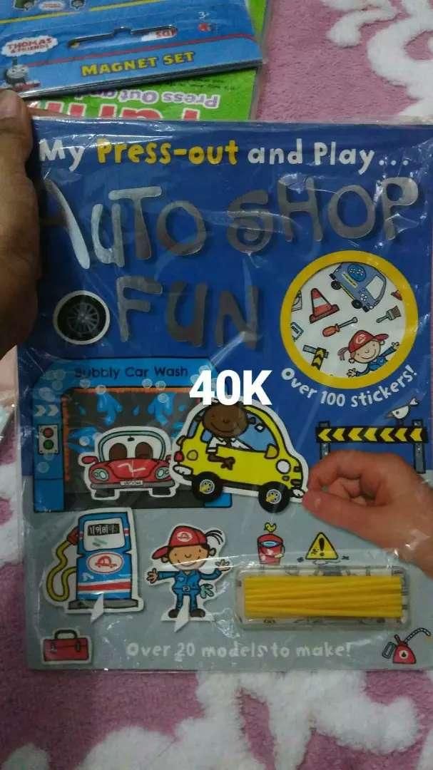 My press out n play auto shop fun 0