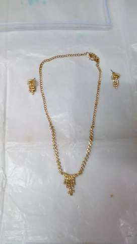 My necklace Golden for sale