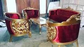 Set Sofa Tamu Ukiran Murah