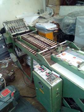 H& H Imported four fold suction feed machine