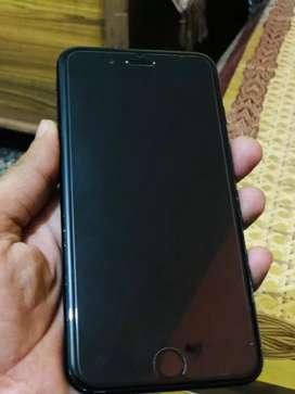 IPhone 7 plus 128 GB Jet black Indian