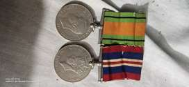 British army medals 1939