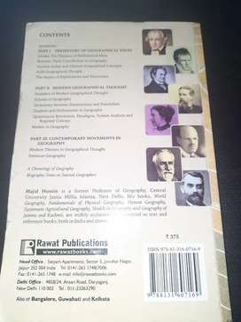 book for upsc: majid hussain, evolution of geographical thought