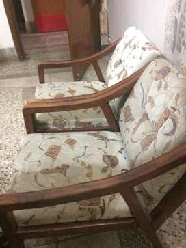 4 pure sheesham chairs