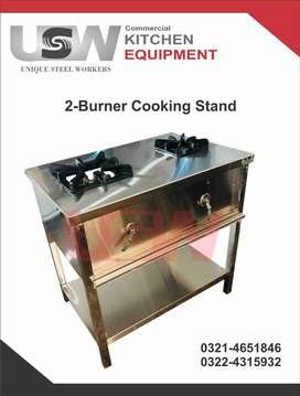 2-Burner Cooking Stand
