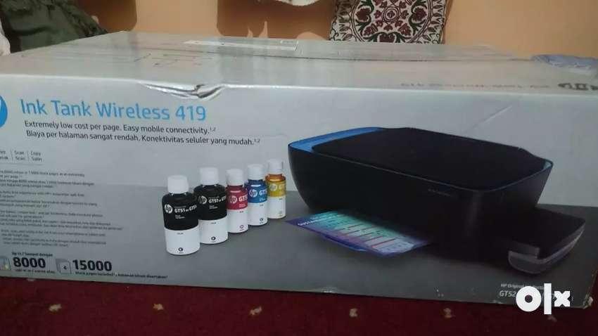 HP wireless printer scanner &copier 0