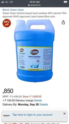 5L sanitizers