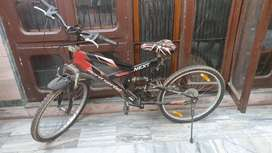21 SHIMANO gears cycle