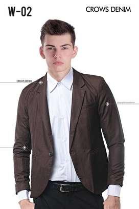 Blazer Formal, Blazer Cowok, Premium New York Blazer