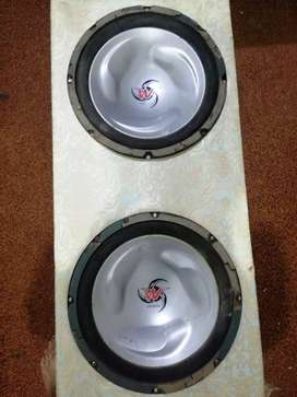 Brand new 12 inch woofer speaker with a heavy material original wooden