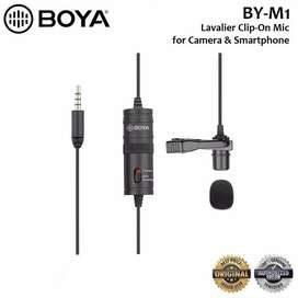 BOYA BY-M1 Lavalier Clip On Microphone for DSLR/HP - Banda Aceh #IRone