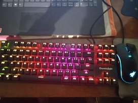 Cosmic Byte mechanical keyboard + Redgear A20 gaming mouse