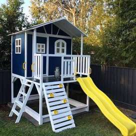 Wooden Cubby / Kids play house