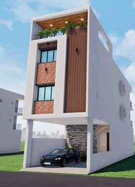 3bhk row house with loan facility at Dhanori