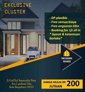 Rumah Premium dekat Bandara Syamsudin Noor