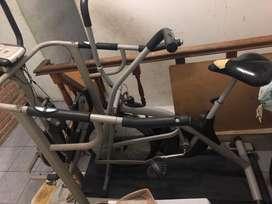 Treadmill dan sepedah