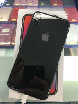Cash/TT Gampang Bisa Iphone X 256GB Grey Second Ex inter Original