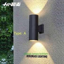 L013 2A LAMPU DINDING TAMAN WATERPROOF MINIMALIS PILAR PAGAR OUTDOOR
