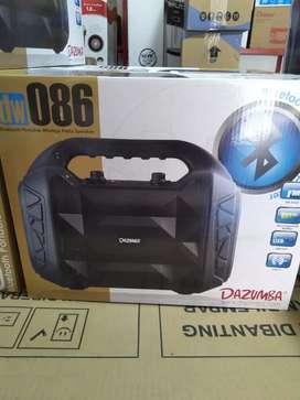 speaker bluetooth plus mic dazumba dw 086 - karaoke style - sinar kita
