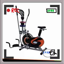 sepeda statis orbitrek T-455 // sepeda magnetik / sepeda fitnes kardio