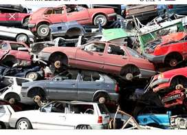 All Type scrap cars , paper fail & accident cars to buy in scraps