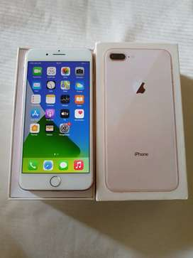 Iphone 8+ 64gb gold fulset mulus