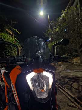 KTM Duke 250 Pro X Windshield