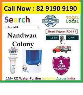 """Nandwan Colony9L Dolphin RO Water Purifier Water Filter  Click On """"Cal"""