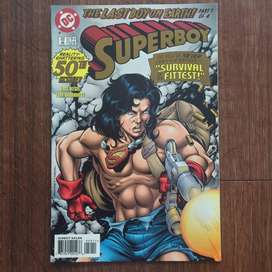 Komik superboy 50th issue part 1 of 4